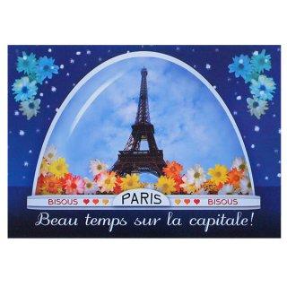 クリスマス(Xmas) 輸入 雑貨 フランスポストカード (boule ? neige)