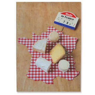 フランスポストカード (Fromage A)
