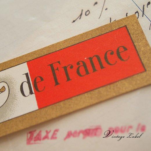 フランス ヴィンテージ ワイン ネックラベル【画像3】