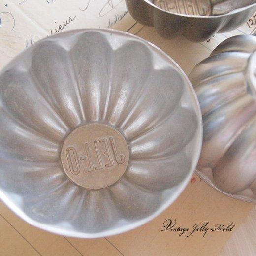 アメリカ アンティーク JELL-O ゼリーモールド【単品売り flower A】【画像4】