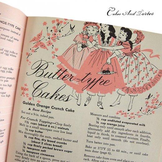 アメリカ レシピブック CAKES AND TORTES(ビンテージ本)【画像5】