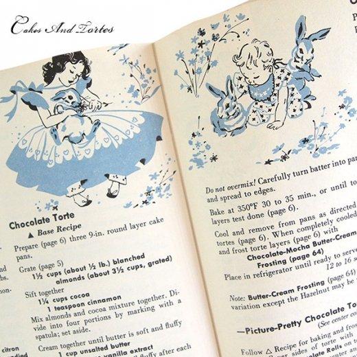 アメリカ レシピブック CAKES AND TORTES(ビンテージ本)【画像9】