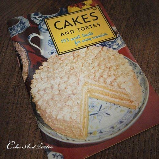 アメリカ レシピブック CAKES AND TORTES(ビンテージ本)【画像10】