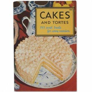 アンティーク アメリカ レシピブック CAKES AND TORTES(ビンテージ本)