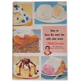 アンティーク アメリカ レシピブック Betty Croker (ビンテージ本)