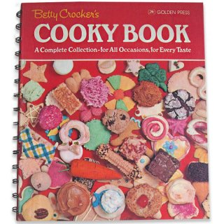 アンティーク アメリカ 1976年 レシピブック Betty Croker COOKY BOOK ハードカバー(ビンテージ本)