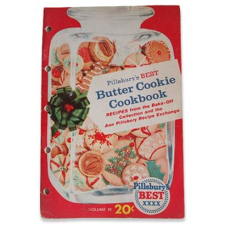 スイーツ雑貨 アメリカ レシピブック Butter Cookie レシピブック(ビンテージ本)