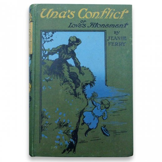 イギリス アンティーク本 【Una's Conflict】