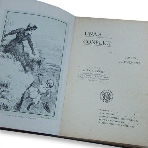 イギリス アンティーク本 【Una's Conflict】【画像4】