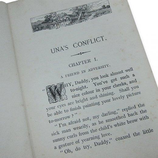 イギリス アンティーク本 【Una's Conflict】【画像5】
