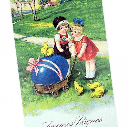 フランス  イースター 復活祭  ポストカード (Paques M)【画像2】