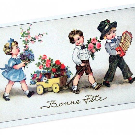 フランスポストカード (Bonne fete C)【画像2】