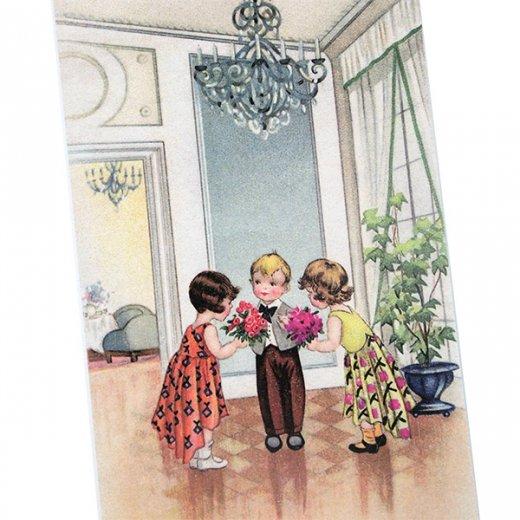 フランスポストカード (avoir une fille a chaque bras)【画像2】