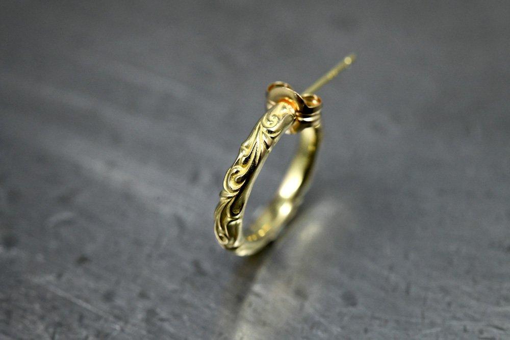 arabesque earring k18 ・instock