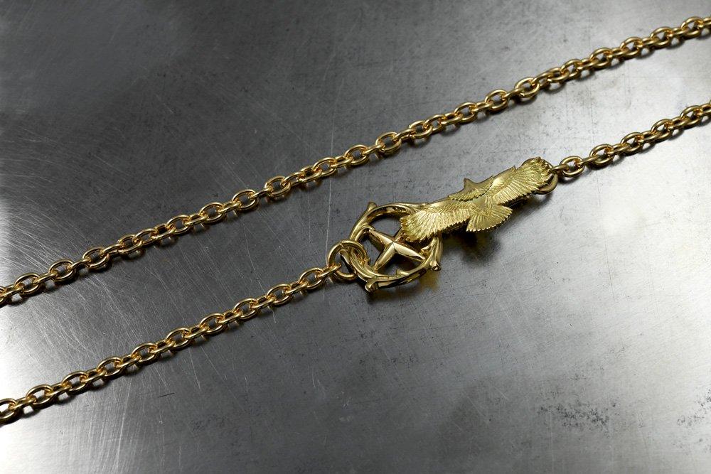 新型チェーン k18 eg05 hook set・60cm