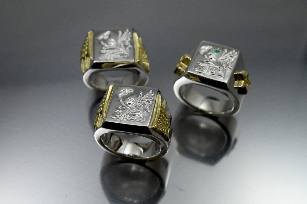 Travis walker x TaroWashimi collaborated design ring