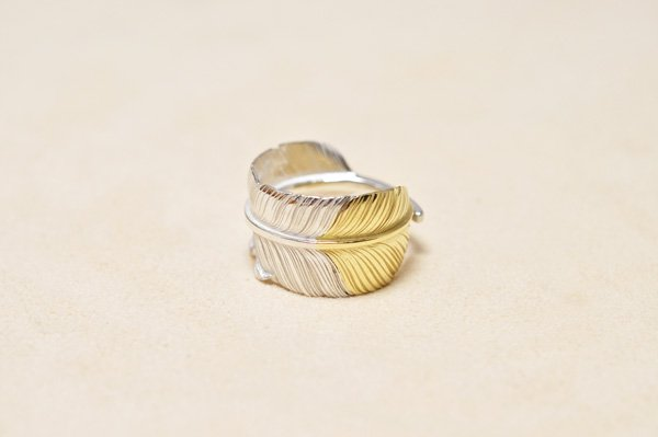 feather Ring/K18gold top
