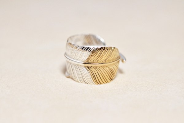 feather Ring/K18Pinkgold top