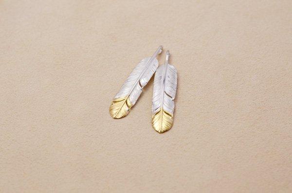feather top・medium 925&K18