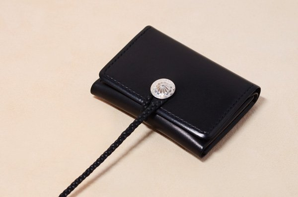 Saddle Leather wallet / S size