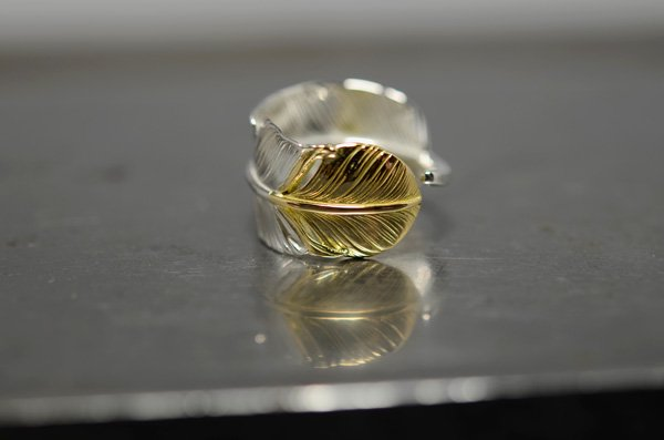 middle size feather ring��right