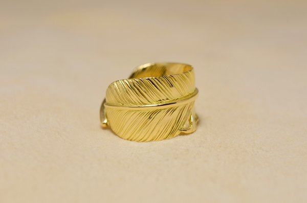 feather Ring fr-02/K18