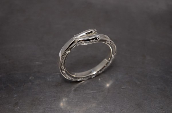 double eagleface Ring /925