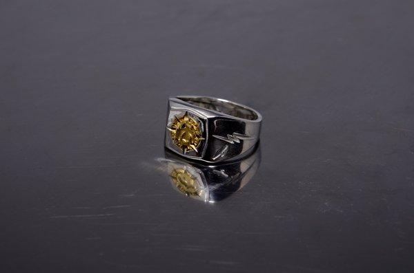 印台/24k stamp ring