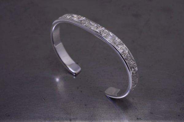arabesque design bangle 5mm