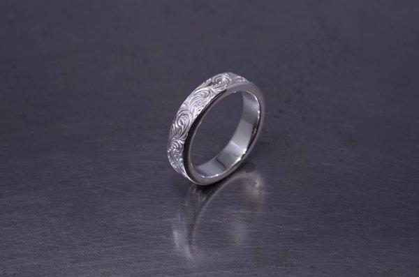 arabesque design ring 5mm