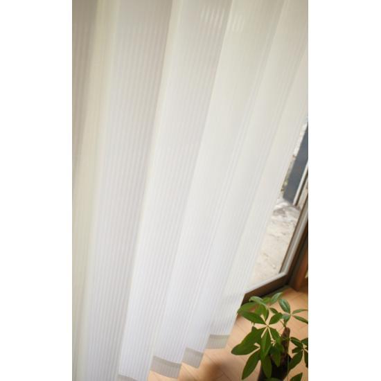 サイズ豊富 昼・夜外から透けにくいレースカーテン 【カスケード】