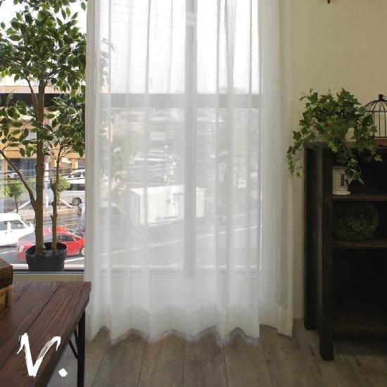 レースカーテン(掃出し窓)