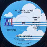 Dee D. Jackson / Automatic Lover
