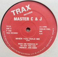 Master C & J / Dub Love c/w When You Hold Me