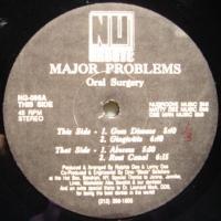Major Problems / Oral Surgery