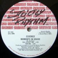 Essence / Just A Touch c/w Moments In House