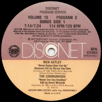 THE COMMUNARDS - Never Can Say Goodbye (DISCONET Edit)