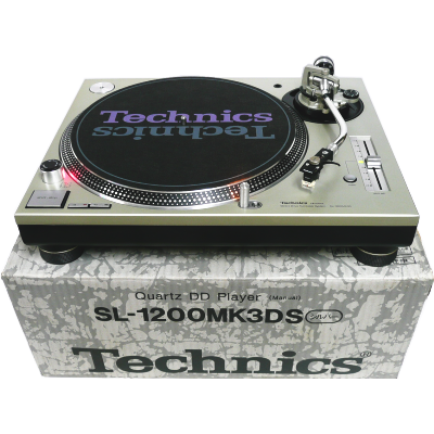 [Manual Turn-Table] Technics SL-1200MK3DS