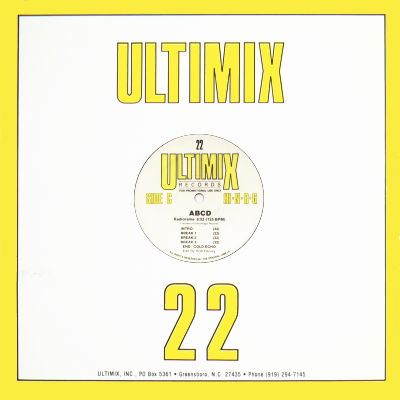 VARIOUS ARTISTS - ULTIMIX RECORDS 22 [3 EP's Set] including
