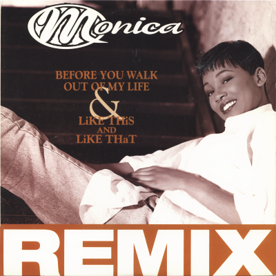 MONICA - Before You Walk Out Of My Life / Like This And Like That