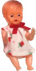レトロな赤ちゃん・チューリップ