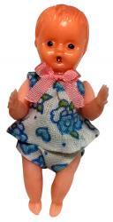 レトロな赤ちゃん・フラワー