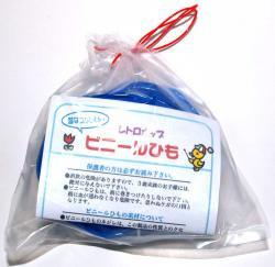 ビニールひも青色(細)25