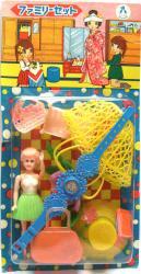 レトロ・お人形セット
