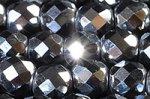 人気沸騰なので新品続々★高品質カットできらきら★テラヘルツ ラウンドカットビーズ連 4mm 32面カット