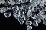 【天然石浄化用さざれ】【つるつる手に刺さらない】水晶さざれ(研磨済み穴無し)7-9mm
