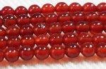 レッドアゲート(赤瑪瑙)丸玉ビーズ2mm