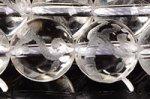 【天然石彫刻ビーズ連】 水晶 素彫り 白虎 12mm