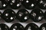【天然石彫刻ビーズ連】 オニキス 素彫り 青龍(玉を持っていない) 12mm