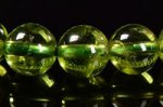 【8月誕生石】★透明度が高い★◎6−8mm◎ペリドットブレスレット7-8mm-51
